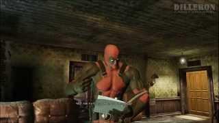 [ч.01] Прохождение игры Deadpool - Бродим по квартире