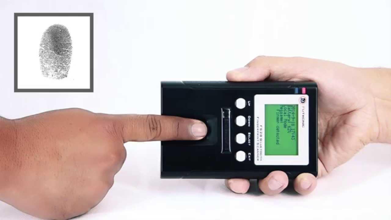 ebb91b9f150ec Lector de huella dactilar bluetooth portátil Bioidentidad FS28 para  aplicaciones móviles