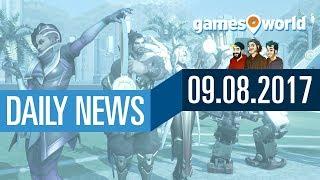 Overwatch, Dota 2+Artifact, For Honor, Windows 10 | Gamesworld Daily News - 09.08.2017