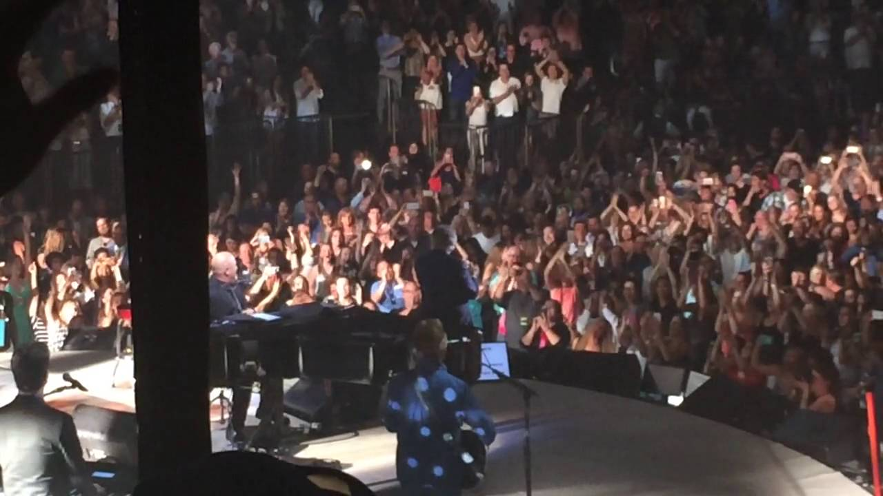 Billy Joel Madison Square Garden Happy Birthday To Tony Bennett 7 20 16 Live Youtube