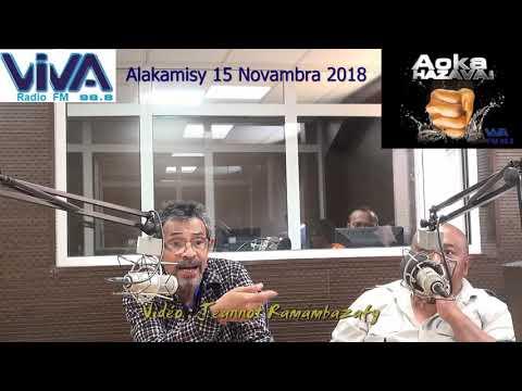 Jeannot Ramambazafy AOKA HAZAVA CENI 15 Nov 2018