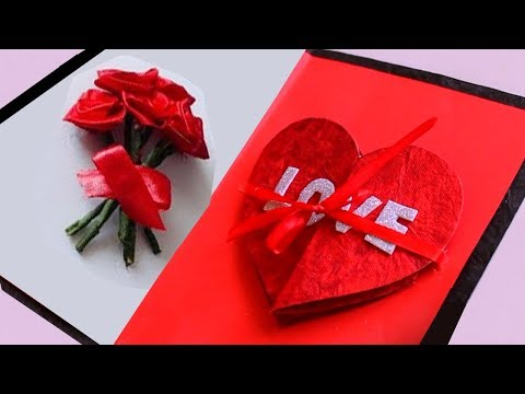 Simple & Easy handmade Valentine's day Craft || DIY || Special Valentine's Day Greeting Cards Mp3