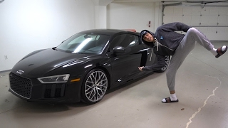 MY BRAND NEW AUDI R8 REVEAL