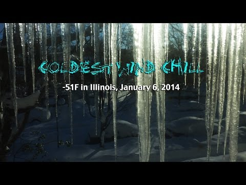 Polar Vortex effect! How to turn water into snow!!! Wind Chill -51F!!!