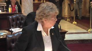 NJ Senate Majority Leader Loretta Weinberg Remarks on Marriage Equality