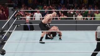 WWE Survivor Series-Brock Lesnar vs AJ Styles(Champion vs Champion)