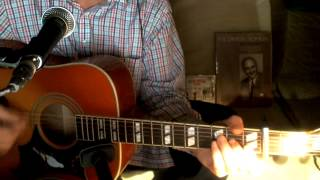 High Noon (Do Not Forsake Me) Tex Ritter Johnny Western Acoustic Cover w/ Epiphone Dove Pro VB