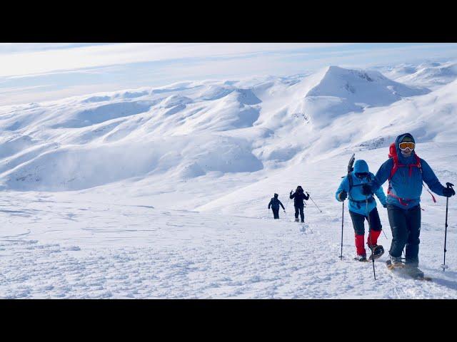 Eine Berg- und Fjelltour mit Schneeschuhen in Reinheim (Norwegen) Teil 1 -outdoor-life