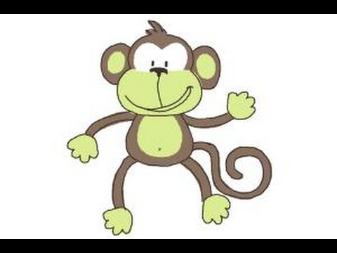 How to Draw a Monkey Step by Step - YouTube