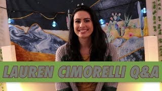 Lauren Cimorelli Q&A