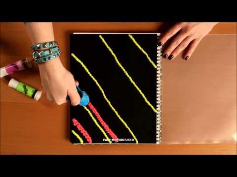 DohVinci Australia Back To School DIY Notebook