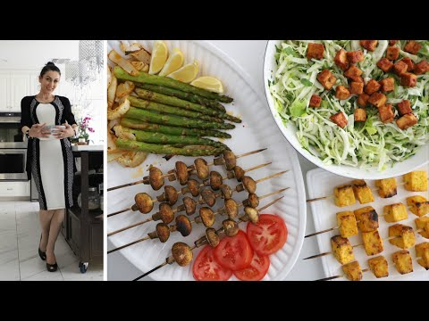 Блюда из Тофу и Спаржи - Салат из Капусты - Рецепт от Эгине - Heghineh Cooking Show In Russian