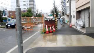 名古屋市北区の平安通り付近です.