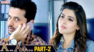 A AA Hindi Dubbed Movie Part 2 | Nithiin, Samantha, Anupama Parameshwaran | Trivikram