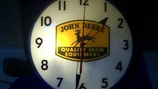 Vintage John Deere Clock