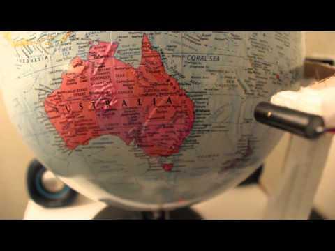 Interactive Globe - Australia