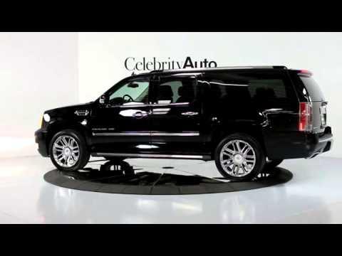 2014 Cadillac Escalade Esv Awd Platinum Rear Ent 22