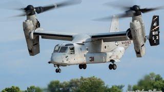 USMC MV-22 Osprey Demonstration - EAA AirVenture Oshkosh 2014