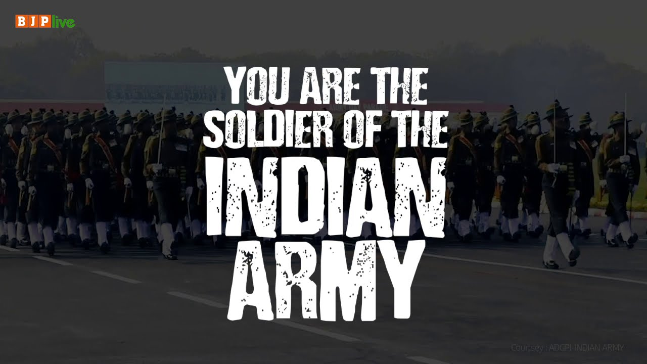 Salute and sincerest gratitude to every personnel and their families of the Indian Army. Jai Hind