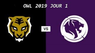 Jour 1 OWL 2019 Match complet  - Seoul Dynasty contre Los Angeles Gladiators