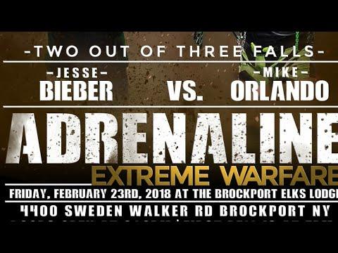 Mike Orlando vs Jesse Bieber 2/3 falls finale