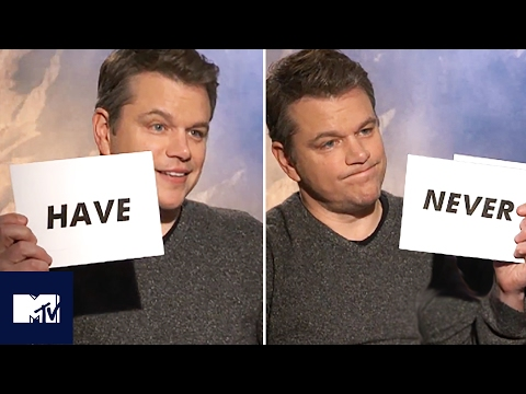 Matt Damon Plays Never Have I Ever! 😂 | MTV