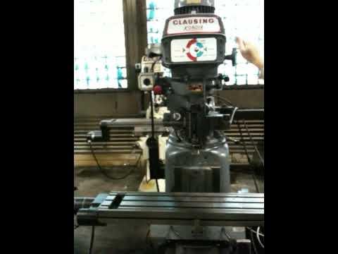 CLAUSING-KONDIA 2-AXIS CNC VERTICAL MILL
