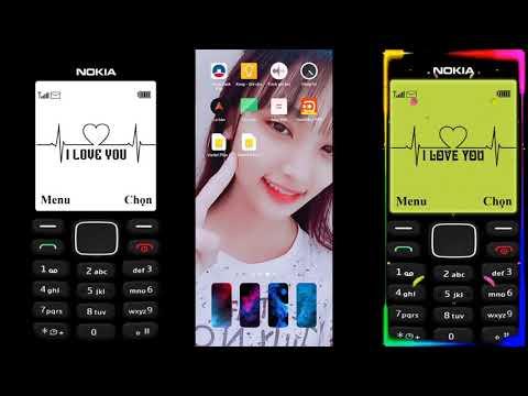 Cách Cài Màn Hình Điện Thoại Nokia 1280 - Trào Lưu TikTok || TH Vlogs