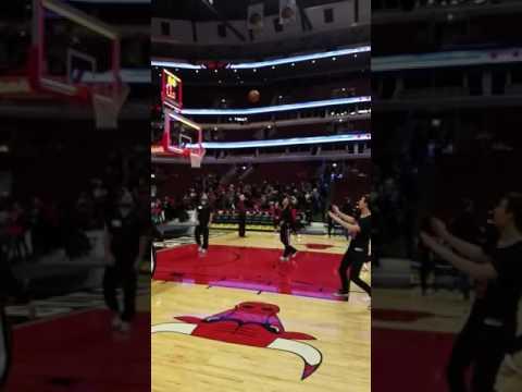 United Center Bulls Court Shot