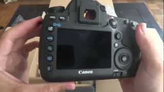 Unboxing Canon EOS 5D Mark III in French / Déballage du 5D Mark III