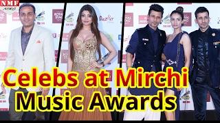 B Town Celebs ने किया Mirchi Music Award Attend| Urvashi Rautela, Shilpa Shetty