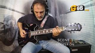 Fractal AX8 - Overdrive Special Dumble - Epiphone Gary Clark Jr
