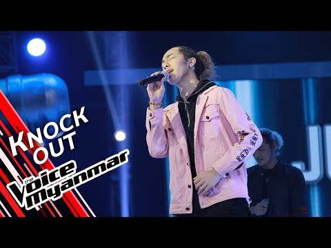 Just: Eyes, Nose, Lips (Taeyang) | Knock Out - The Voice Myanmar 2019