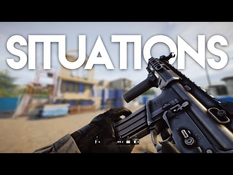 All Rainbow Six Siege Situations (Realistic & 3 Stars)