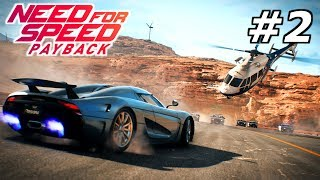 NEED FOR SPEED Payback #2 – Unser 1. Auto! | NFS Gameplay German Deutsch