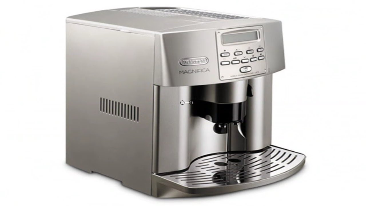 delonghi esam3500n magnifica digital machine youtube - Delonghi Espresso Machine