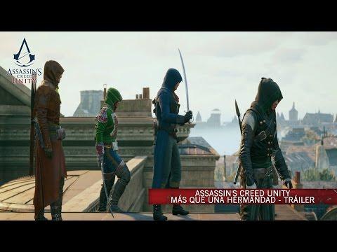 Assassin's Creed Unity  Más que una Hermandad - Tráiler Cooperativo [ES]
