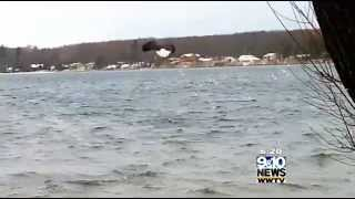Sightseeing in Northern Michigan: Eagles on Crooked Lake