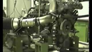 Silnik Diesla Ciężarówki Wybucha - Testowanie silnika