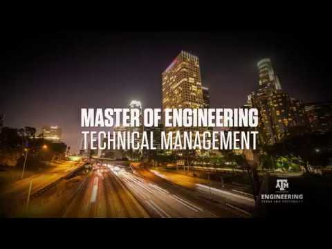 Master of Engineering Technical Management