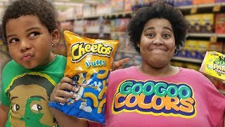 GOO GOO GAGA PRETEND PLAY SHOPPING AT TARGET! Learn to Healthy Foods thumbnail