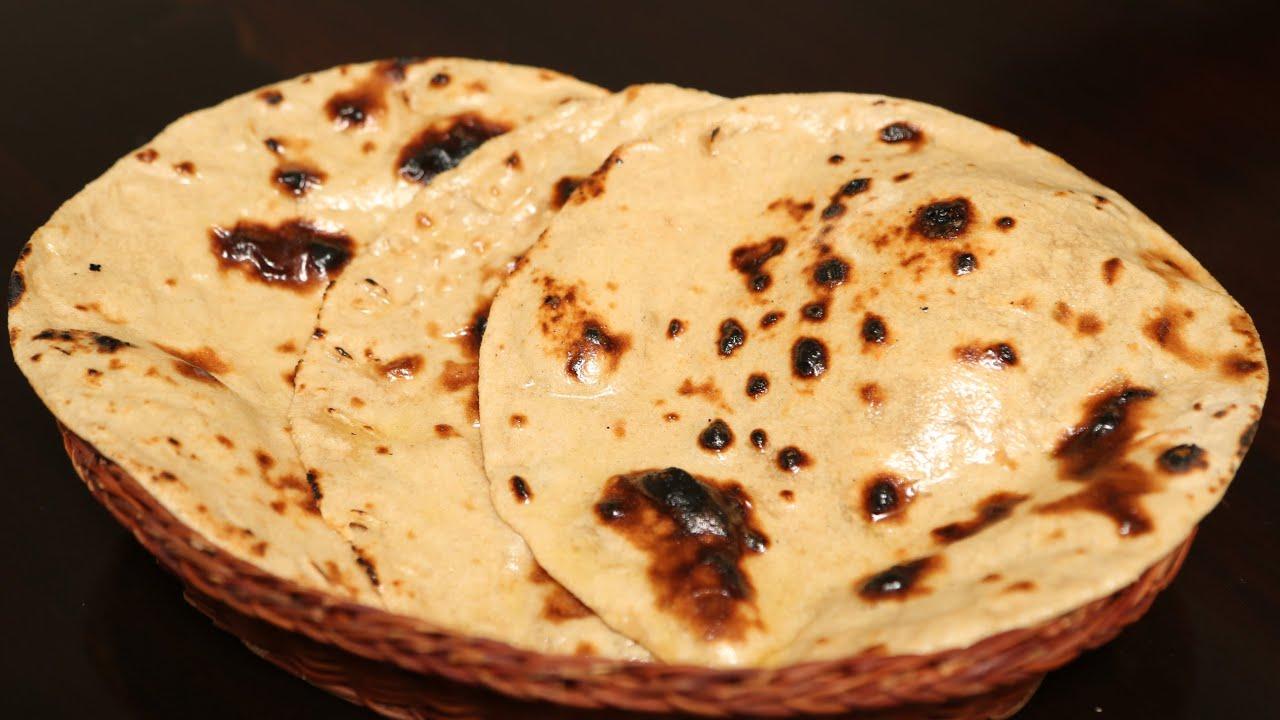 How To Make Tandoori Roti At Home Without Tandoor | Ruchi ...