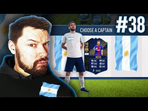 98 TOTY MESSI!! - #FIFA18 DRAFT TO GLORY #38
