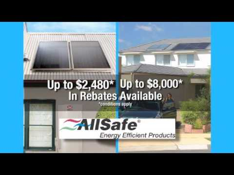 Government Rebates for Solar Hot Water.