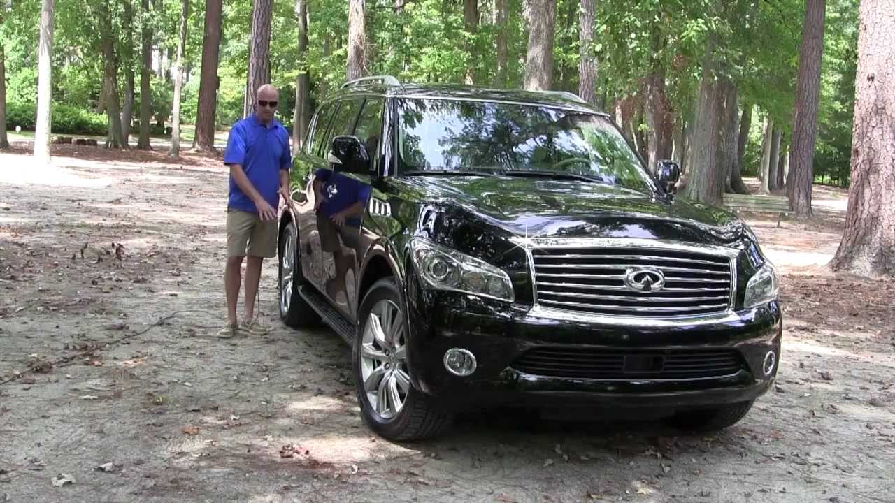 2013 infiniti qx56 in depth review youtube vanachro Image collections