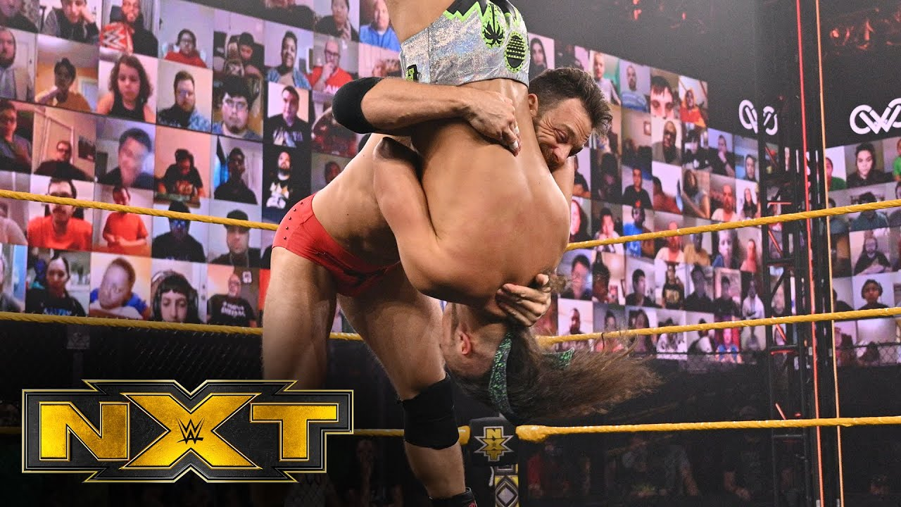 LA Knight Reacts to NXT In-Ring Debut
