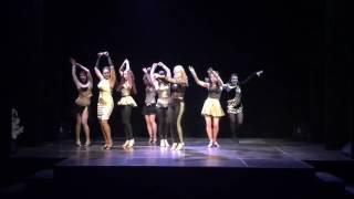 El Fuego show by Zorina Dance First Salsa 23 01 2016