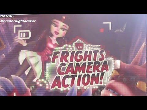 Trailer en español latino de  monster high Frights, Camera, Action!