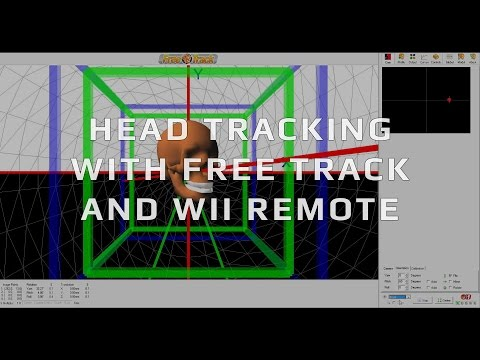 Budget Head Tracking With Free Track and Wii Remote