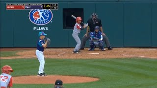 LLWS 2019 Opening Round | Japan vs Italy | 2019 Little League World Series Highlights